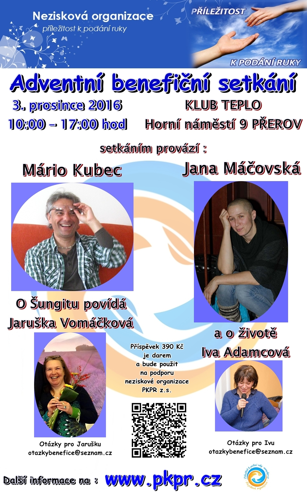 Benefice Přerov 3.12.2016